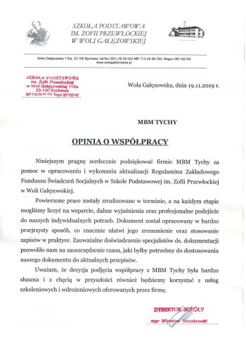 Referencje MBM Tychy