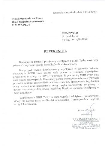 Referencje MBM Tychy-1