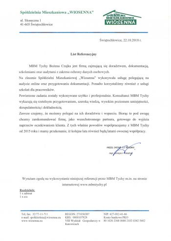 SM Wiosenna - Świętochłowice