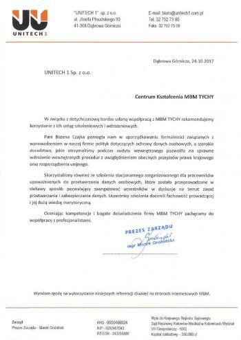 Unitech 1- Dąbrowa Górnicza