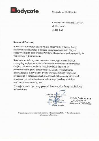 Bodycote - Częstochowa