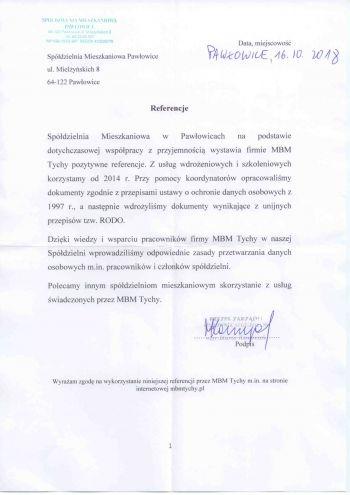 SM - Pawłowice