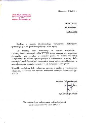 Choszczeński TBS - Choszczno